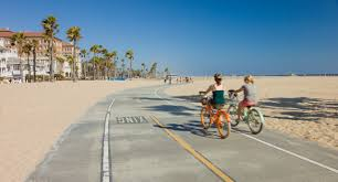 Map Of Los Angeles Area Beaches by Marvin Braude Bike Trail In Los Angeles California Beaches