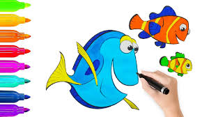 coloring book finding nemo fish coloring pages l coloring book