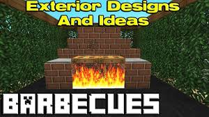 minecraft bbq designs youtube
