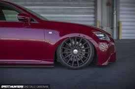 lexus gs350 slammed much low no compromises speedhunters