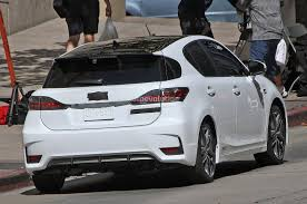 lexus ct200 spyshots lexus ct 200h f sport autoevolution