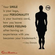 Business Cards Quotes Your Smile Is Your Logo Your Personality Is Your Business Card