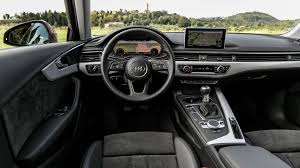audi dashboard 2017 audi a4 2 0 tdi 190 sport manual 2015 review by car magazine