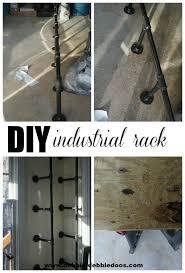 Diy Bakers Rack How To Build Your Own Industrial Bakers Rack Debbiedoos
