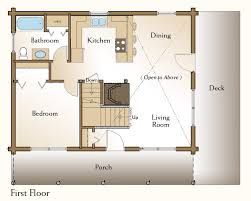 one bedroom cabin floor plans the simple log cabin click for floor plans