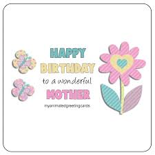 happy birthday to a wonderful mother animated birthday card