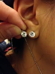 what size diamond earrings best size diamond studs basement wall studs