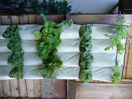 diy hanging planters for fences from recycled white fabric ideas