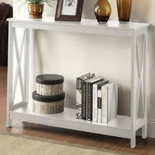 Stone Sofa Table White Console U0026 Sofa Tables You U0027ll Love Wayfair