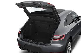 porsche trunk 2017 porsche macan reviews and rating motor trend