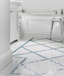 Border Tiles For Bathroom All About Glass Mosaic Tile Marble Bathroom Floor Aquamarine