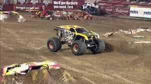 monster trucks on youtube videos monster jam max d freestyle in orlando fl jan 26 2013 youtube
