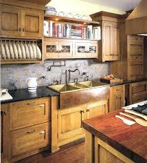 shaker door style kitchen cabinets craftsman tile backsplash walnut wood driftwood shaker door