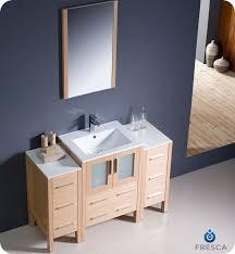 Bathroom Vanities Oak 24 To 48 Torino Single Bath Vanity Light Oak Tradewindsimports