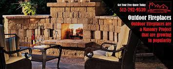 Fireplace Repair Austin by Masonry Contractor Austin Stone Veneers Retaining Wall Blocks