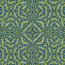 digital art collage technique futuristic style geometric abstract