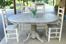 antique dining room table and chairs distressed white round dining table and chairs pedestal antique