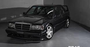 mercedes on ebay mercedes 190e evo for sale at 700k ebay find