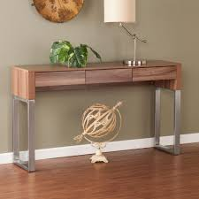 narrow table with drawers console table stunning contemporary console tables with drawers