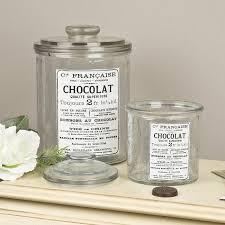 Bathroom Glass Storage Jars Vintage Bathroom Accessories Glass Storage Jars V I N T A G E