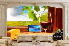 wine wall murals promotion shop for promotional wine wall murals
