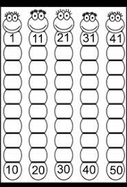 missing numbers 1 50 u2013 4 worksheets free printable worksheets
