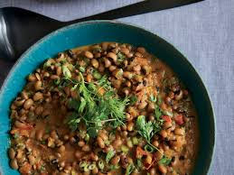 black eyed peas with coconut milk and spices recipe