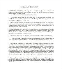 11 booking agent contract templates u2013 free word pdf documents