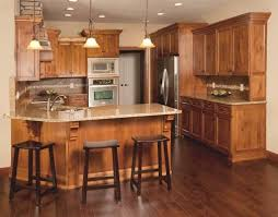 Kitchen Designs With Oak Cabinets by Best 25 Knotty Alder Kitchen Ideas On Pinterest Rustic Cabinets