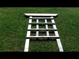 Plans For Making A Round Picnic Table by How To Build A Trellis For Around 4 00 Youtube