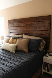 Wooden King Size Headboard by Best 25 Diy Headboard Wood Ideas Only On Pinterest Barn Wood