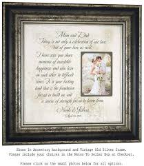 wedding gift parents personalized wedding frame bridal shower gift parents wedding