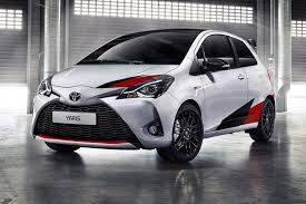 toyota car 2017 new toyota yaris grmn a hatch dark horse by car magazine