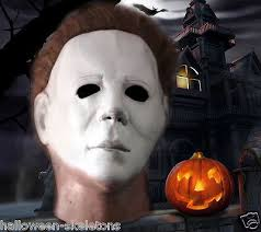 halloween ii michael myers mask officially licensed molded 1975