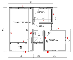 how to a house plan how to calculate number of blocks for your building project in 2