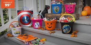 halloween treat buckets u2014 crafthubs