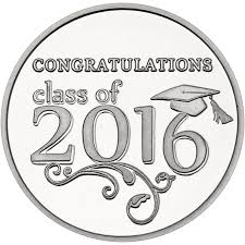 class of 2016 graduation 2016 graduation silver coins and bars