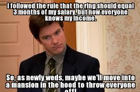 Engagement Meme - engagement meme i followed the rule that the ring should equal 3