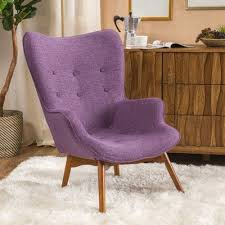 Purple Chairs For Sale Design Ideas Langley Vista Mid Century Accent Chair Upholstery