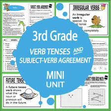 verb tenses activities subject verb agreement worksheet and two