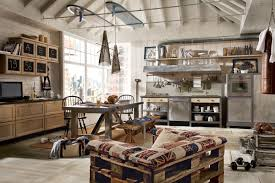 Loft Kitchen Ideas Kitchen Decorating Industrial Kitchen Rack Loft Kitchen