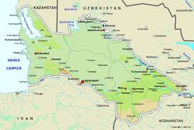 World Continent Map Map Of Turkmenistan Maps Worl Atlas Turkmenistan Map Online