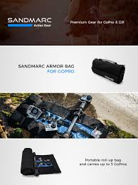 gopro remote deal on black friday deal in amazon amazon com sandmarc armor bag portable roll up case travel