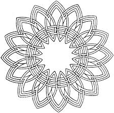 free printable coloring pages adults geometric children