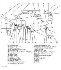 1999 nissan sentra fuel pump relay engine mechanical problem 1999