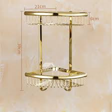 brass bathroom accessories set gold carved stainless steel luxury