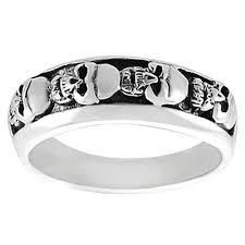 mens skull wedding rings mens skull ring 9 stunning skull wedding bands for men woman
