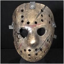 Jason Costume Auz Super Deluxe Freddy Vs Jason Hockey Mask Collectible Horror