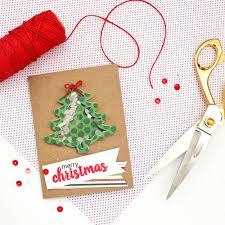 easy christmas tree shaker card with cheery lynn designs blitsy