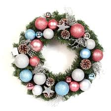 plastic christmas decoration christmas ball wreath christmas